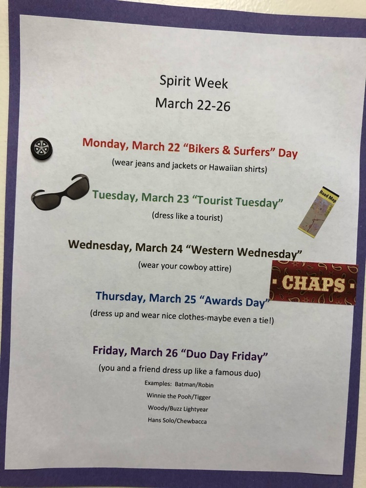 Student Council planned another fun week for everyone🤗
